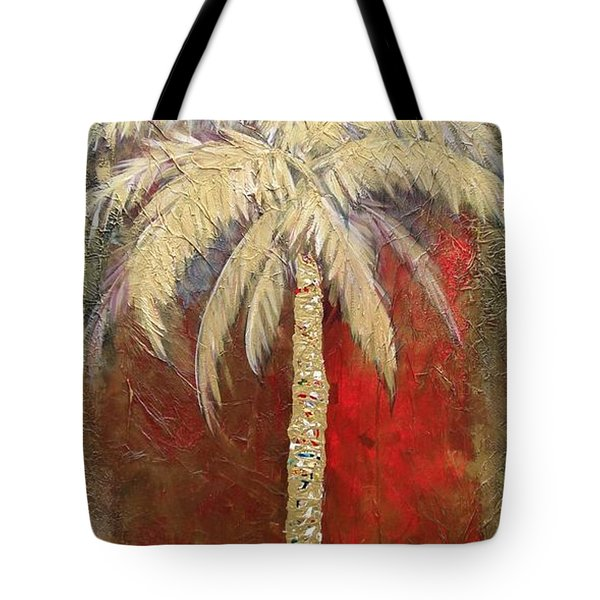 Passion Palm Tote Bag