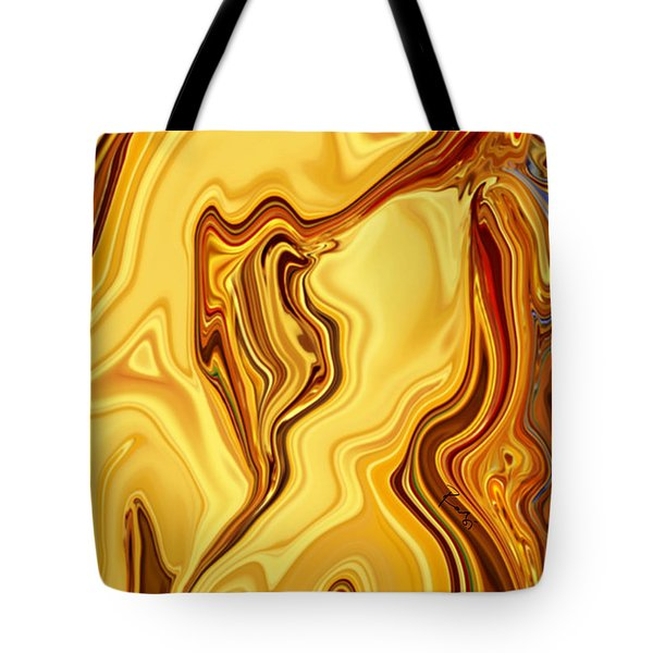 Tote Bag featuring the digital art Passion by Rabi Khan