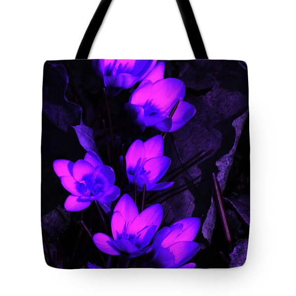 Passionate Blooms Tote Bag by Karol Livote