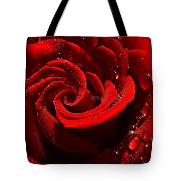Passionate Red Tote Bag
