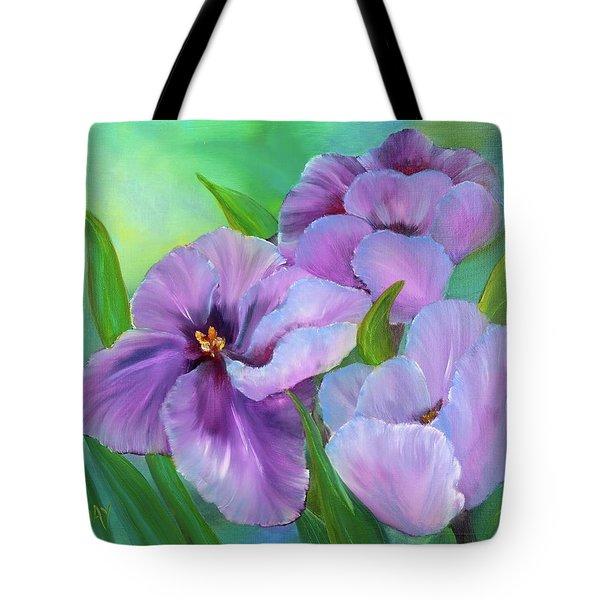 Passionate Tulips Tote Bag