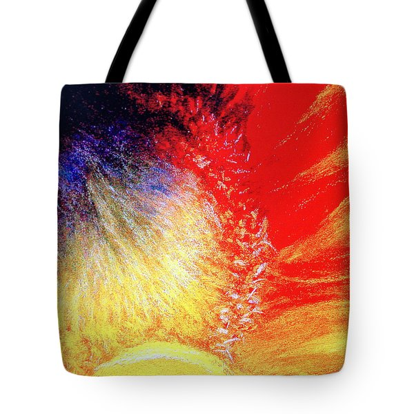 Tote Bag featuring the pastel Passions From Within by Antonia Citrino