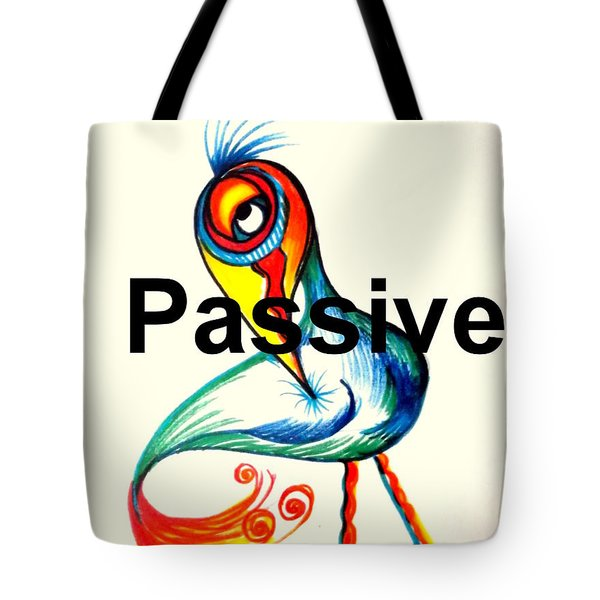 Passive Taino Bird Tote Bag
