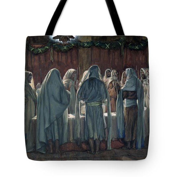 Passover Tote Bag by Tissot