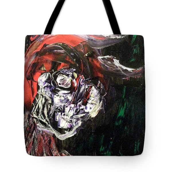 Past Demons Tote Bag