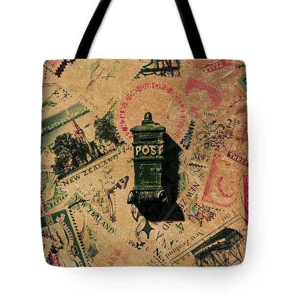 Past Letters In Post Tote Bag
