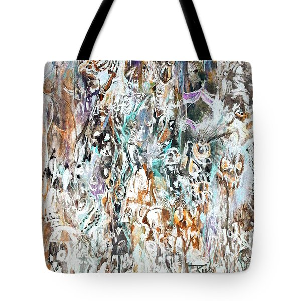 Past Life Trauma Inverted Tote Bag