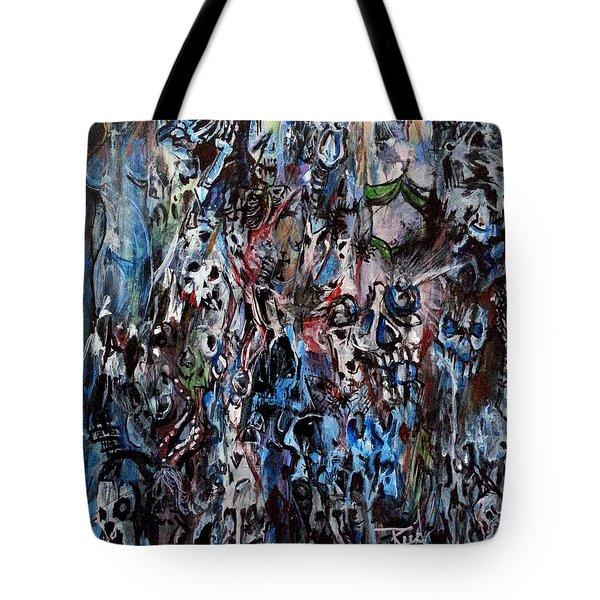 Past Life Trauma Tote Bag