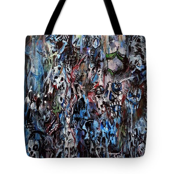 Past Life Trauma Tote Bag