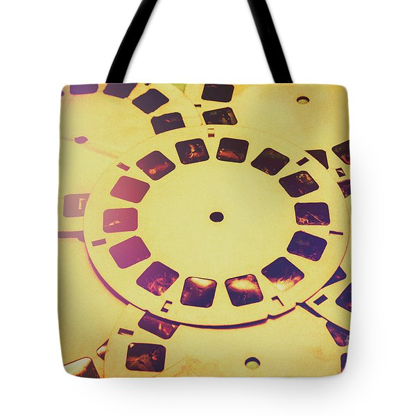 Past Projection Tote Bag