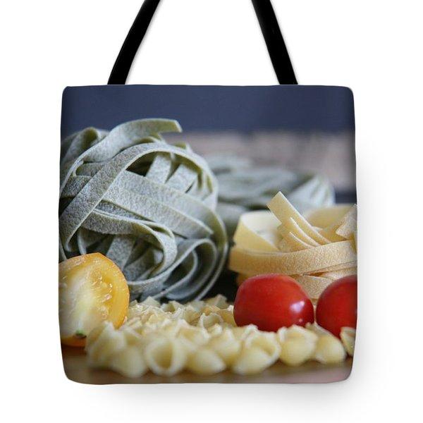 Pasta Con Pomodoro Tote Bag