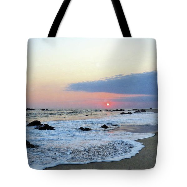 Tote Bag featuring the photograph Pastel Blue by Victor K