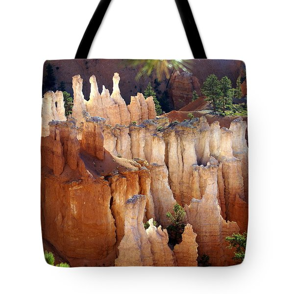 Pastel Bryce Tote Bag by Marty Koch