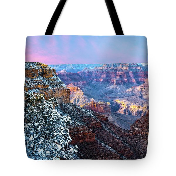 Pastel Canyon Tote Bag