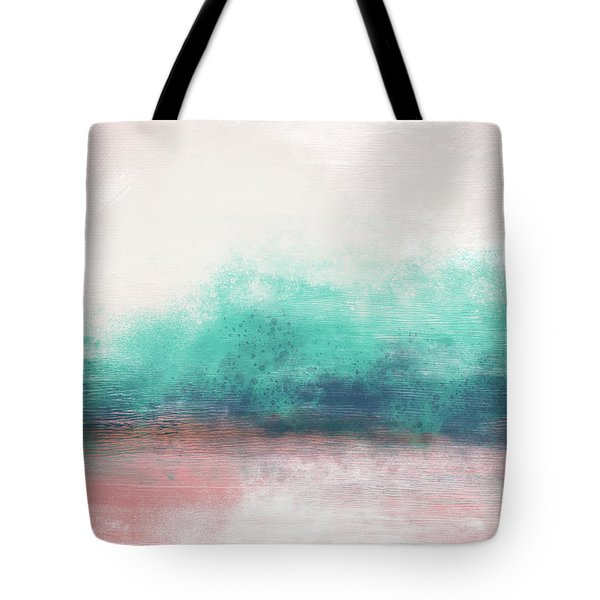 Pastel Coastal Escape-  Art By Linda Woods Tote Bag
