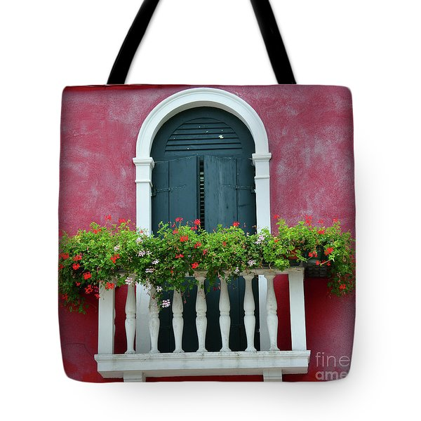 Pastel Colors Of Burano  Tote Bag