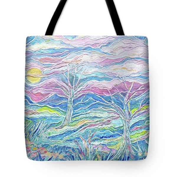 Pastel Country Tote Bag