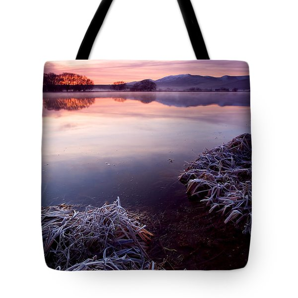 Pastel Dawn Tote Bag by Mike  Dawson