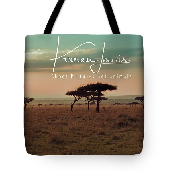 Tote Bag featuring the photograph Pastel Dawn On The Mara by Karen Lewis