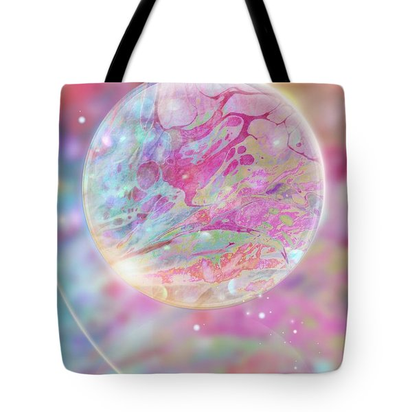 Pastel Dream Sphere Tote Bag