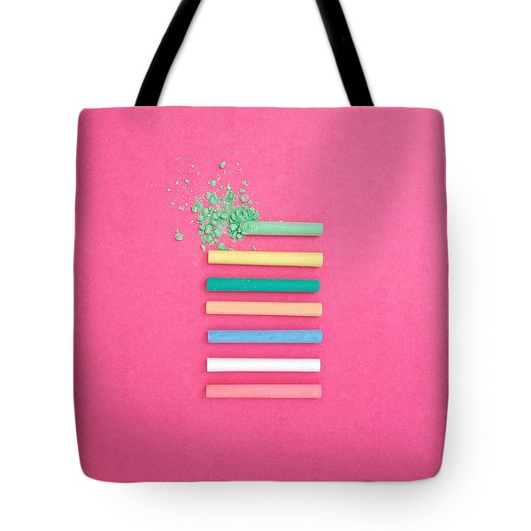 Pastel Explosion Tote Bag