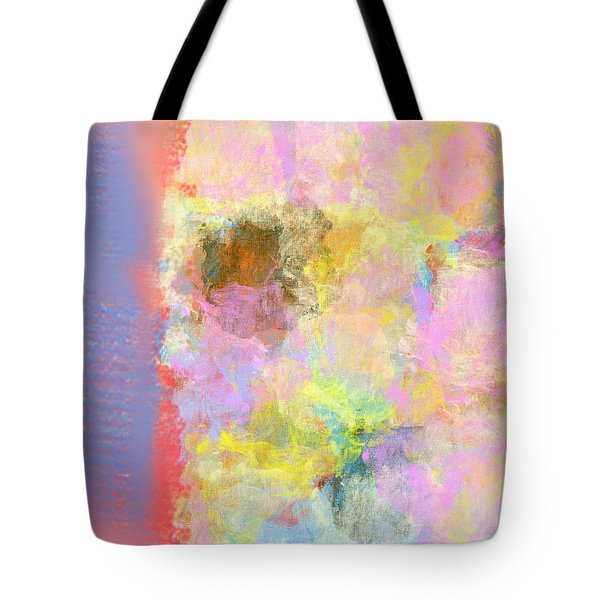 Pastel Flower Tote Bag by Jessica Wright