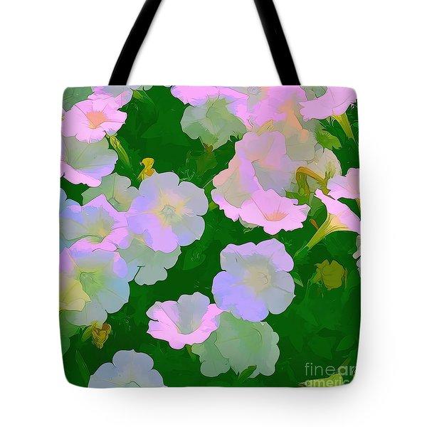 Pastel Flowers Tote Bag by Tom Prendergast