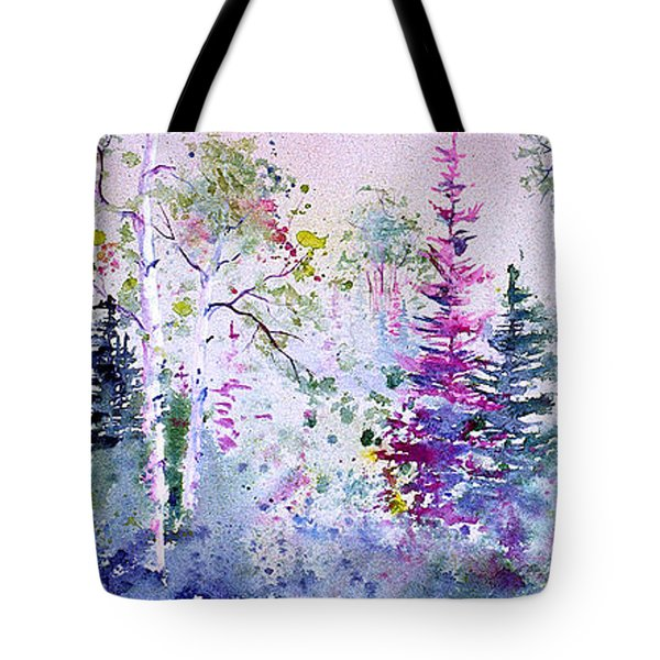 Pastel Forest Tote Bag