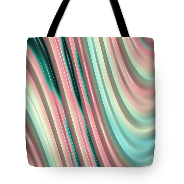 Tote Bag featuring the photograph Pastel Fractal 2 by Bonnie Bruno
