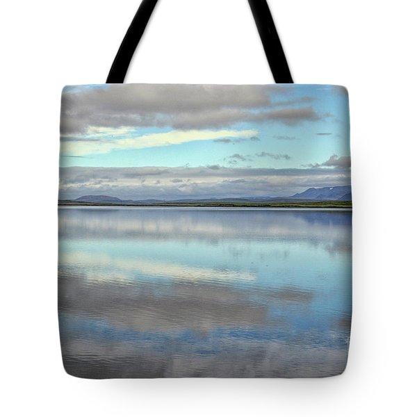 Pastel Landscape Tote Bag