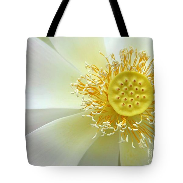 Pastel Lotus Too Tote Bag by Sabrina L Ryan