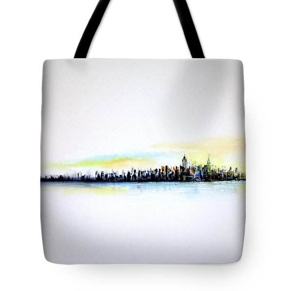 Pastel Morning Tote Bag