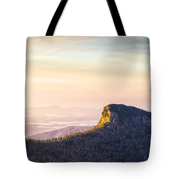 Table Rock Mountain - Linville Gorge North Carolina Tote Bag