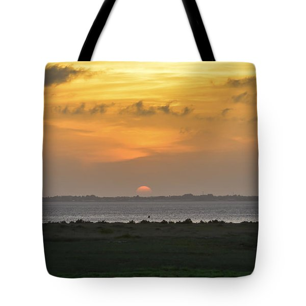 Tote Bag featuring the photograph Pastel Sky by Debra Martz