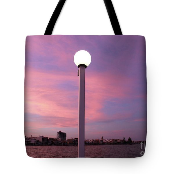 Pastel Skylight Tote Bag