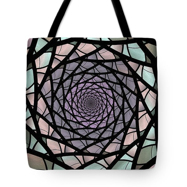 Pastel Stained Glass  Tote Bag