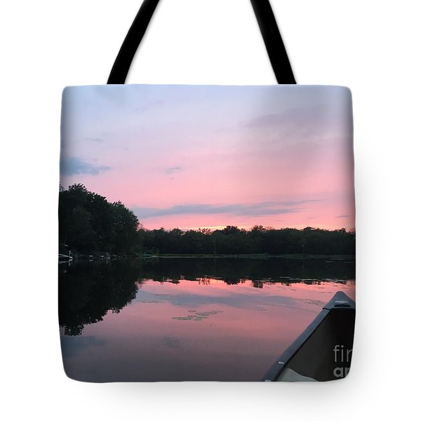Pastel Sunset Tote Bag by Jason Nicholas