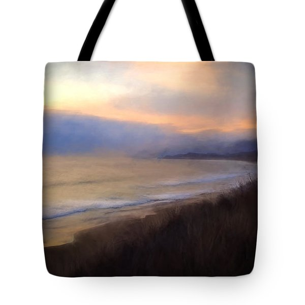 Tote Bag featuring the photograph Pastel Sunset by John A Rodriguez