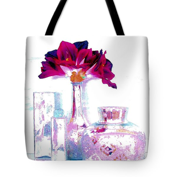 Pastels And Beauty Tote Bag by Marsha Heiken