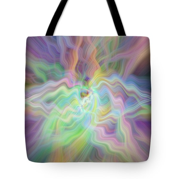 Pastels Tote Bag by Cherie Duran