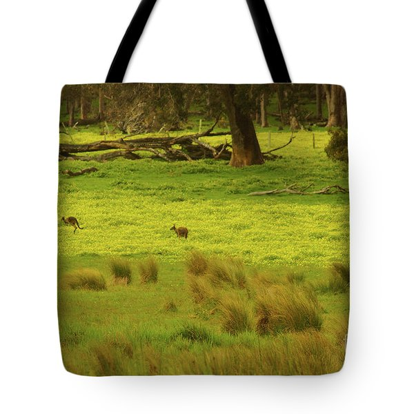 Pasture In Boranup Tote Bag by Cassandra Buckley