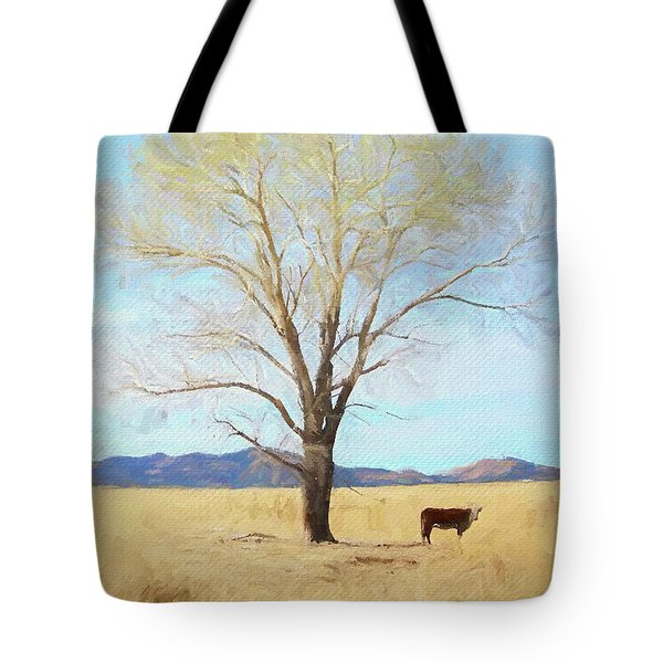 Tote Bag featuring the photograph Patagonia Pasture 2 by Teresa Wilson