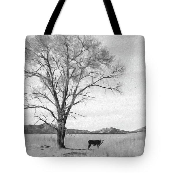 Patagonia Pasture Bw Tote Bag