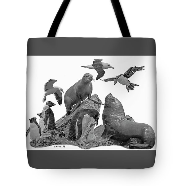 Patagonian Wildlife Tote Bag