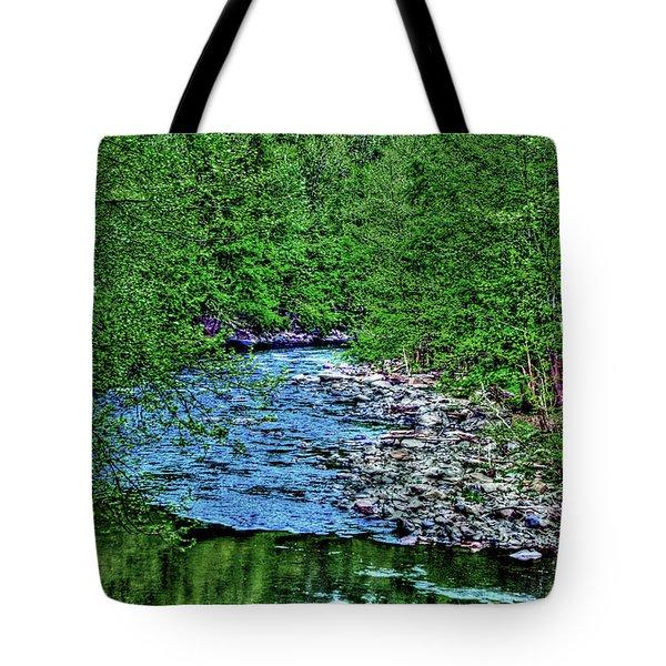 Patapsco River Tote Bag