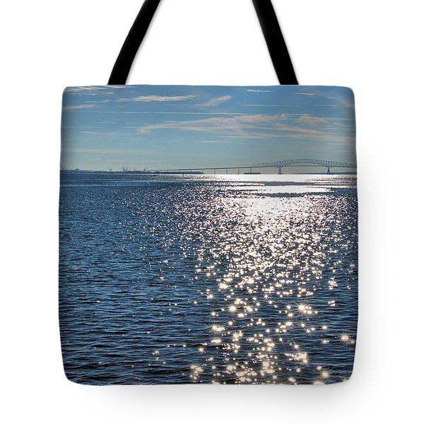Patapsco River  Tote Bag by Steven Richman