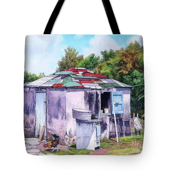 Cat Island Patch Tote Bag