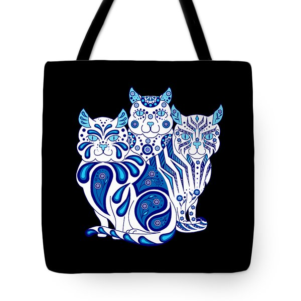 Patches, Stripes, And Bobbles Tote Bag