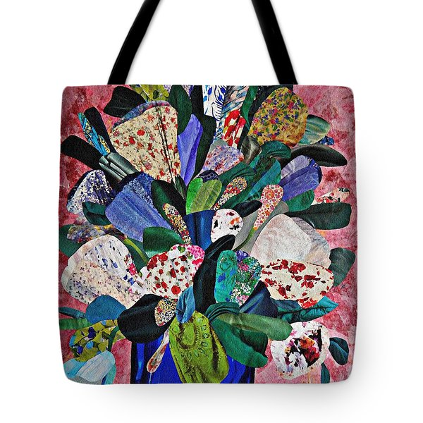 Patchwork Bouquet Tote Bag by Sarah Loft