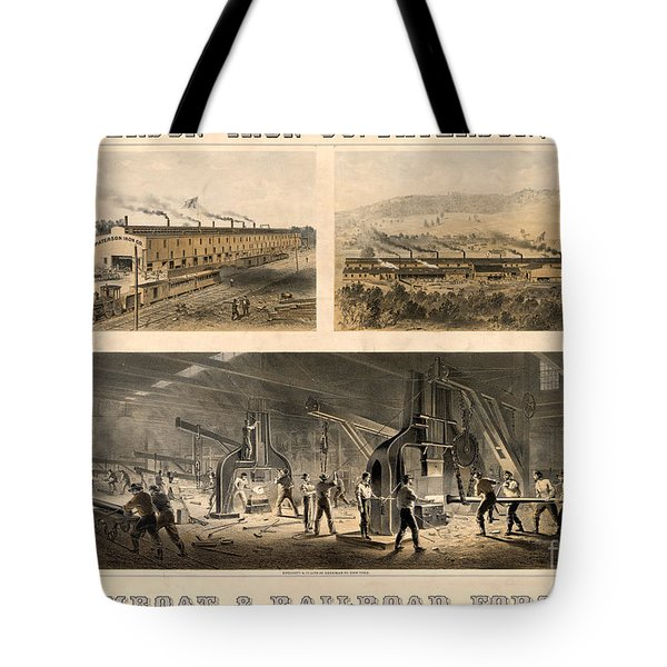 Paterson Iron Company Tote Bag by Granger